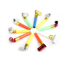 #Cu3 10x Funny Blowouts Party Birthday Blow Outs Noisemakers Colors Favours