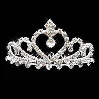 The bride hair accessory rhinestone wedding dress small hair accessory princess 2
