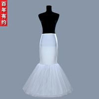 Bride single-circle wedding panniers Mermaid wedding dress drawing dress abdomen waist beauty care pannier