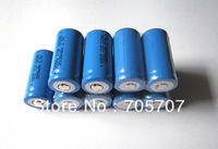 New 10pcs li-ion Rechargeable LED Flashlight Torch 16340 Batteries 2000mah 3.7v free shipping