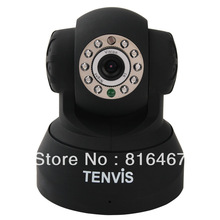 Black 2013 WPA Tenvis JPT3815WVideo Camera Wireless Security Webcam CCTV Night Vision Support Iphone Android Smartphone View