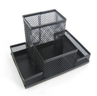 Iron pen multifunctional combination pen holder iron mesh chejian desktop storage
