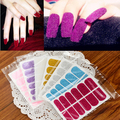 Min. order is $15 (mix order) Fresh doodle series nail polish velvet paster 6456