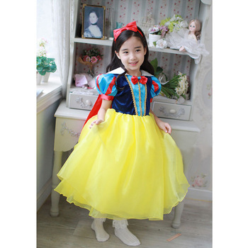 EMS DHL Free shipping 10 pcs/lot Toddler Girls Snow White Princess pettiskirt tutu dress, girl Dance party dress up Costume