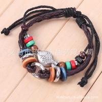 Handsome Chinese national style fashion jewelry fashion bracelet bead weaving