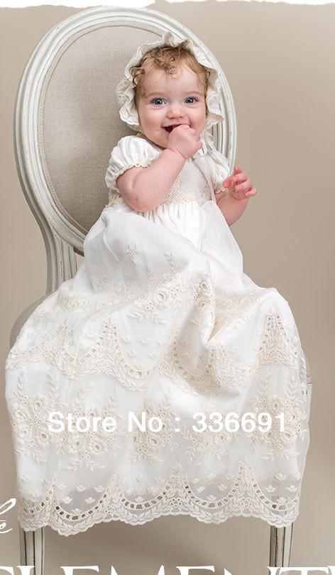 Vestidos para bebés bautismo - Imagui
