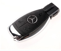Wholesales! fashion new metal benz genuine 4gb/8gb/16gb/32gb usb 2.0 memory stick thumb drive car key