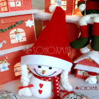 Free Shipping Specials novelty Christmas supplies Christmas gifts Christmas Santa Claus hat millinery - wholesale and retail