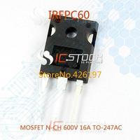 Интегральная микросхема IRFIBC40GLC MOSFET n/ch 600 3.5A TO220FP IRFIBC40GLC
