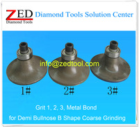 Metal Bond Whoel Sintered 20mm Demi Bullnose B Diamond Profiling Wheel ( Portable Router Bit )