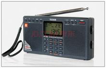 Free shipping TECSUN new style  PL-390 Dual Speaker DSP World Radio  Radio Receiver Stereo Radio