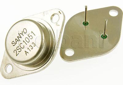 2SC1051 Original Pulled Sanyo Silicon NPN Power Transistor C1051(China (Mainland))