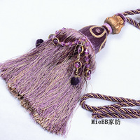 Home Decoration Tassel fashion multicolor curtain accessories hanging ball bandage a pair of  Free shipping