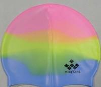free shipping Hot-selling swimming cap fancy swimming cap fancy silica gel swimming cap adult swimming cap