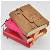 Vintage fashion notebook notepad travel diary 2014 the schedule the appendtiff stationery