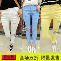 2013 summer Women women's fashion casual plus size pencil pants ankle length trousers