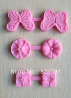 Free shipping  3pcs Printing mode Chocolate Candy Jello 3D silicne Mold Mould Cartoon Figre/cake tools soap mold
