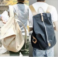 Рюкзак 2014 new fashion women's Backpack canvas patchwork women school bag dot design contract style size 40*27*10cm