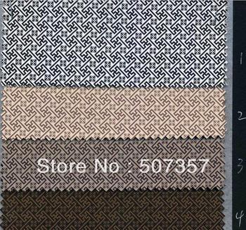 Wholesale Semi PU leather fabric sofa printing / soft bag luggage leather fabric / wear 10070