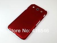 2pcsXRubberized Plastic Hard Case Cover for LG Optimus G Pro F240 Back Phone Case+Screen film