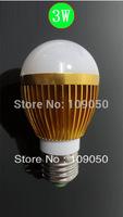 3W High brightness LED Bulb Lamp, High Power led dimmable Bubble Ball Bulb,Warranty 2 years,SMTB-15-7