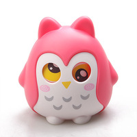 2014 Owl storage tank candy jar money box coin bank Free shipping