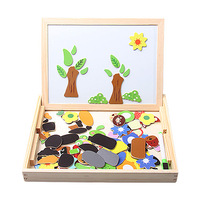 Wool puzzle toy wool animal puzzle