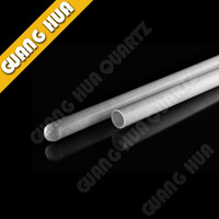 Milk white Quartz Glass Tube/Opaque quartz pipe/thermostability glass tube