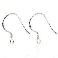 Factory direct / Free shipping hotsale fashion ear hook/ earring/wire 925 sterling silver