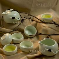 free shipping high quality Tea set ceramic kung fu tea gift box packaging dull penguin pot cup