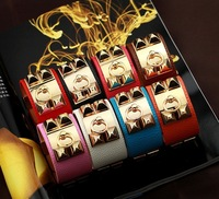 2013 Hot Popular Wholesale Leather Bracelets Promotion Brand New Items Fashion Jewelry Women
