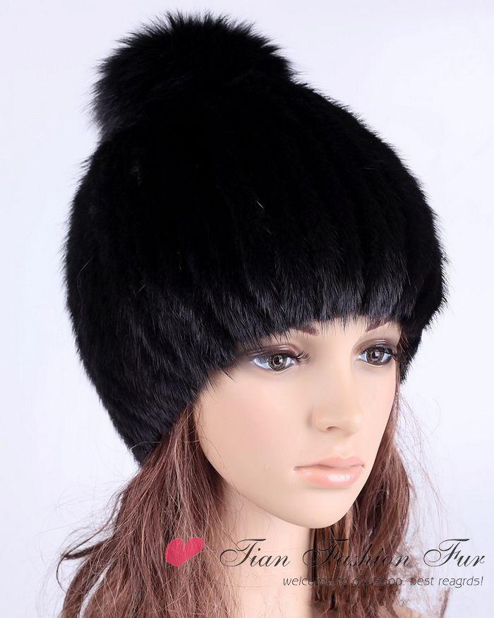 2013 Brand New High Quality Women Genuine Mink Fur Hat Women Caps Wholesale retail Winter Women Mink hat Free shipping(China (Mainland))