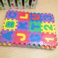 Letter foam puzzle digital mats puzzle digital color letter
