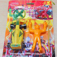 Automobile race super man sf small toys