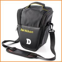 Free shipping wholesale 10pcs/lot Camera Bag case New DSLR  for NIKON D3000 D5000 D90 D80 D60