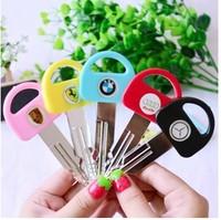 Creative car key ball pen/Cartoon Ballpoint pen/Lovely Ball Pen/Free shipping 36pcs/Lot free shipping