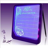 Light-up message board luminous toy writing board novelty gift 246