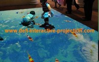 NEWEST!!! DEFI Interactive Floor/wall Projection software  for advertising, event and enterainment / 111 effects