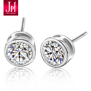 Jpf 925 pure silver stud earring women's stud earring female accessories girls earrings birthday gift
