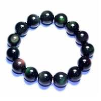 Crystal natural obsidian bracelet accessories apotropaic bead transfer