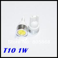 2014 Limited SaleExternal Lights 10x Led High Power T10 W5w 194 168 Car Light Bulbs 1w Lamp Corner Parking