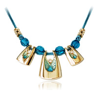 free shipping 2013 New Arrival Bohemian Style fashion beautiful unique statement necklace for dress costume