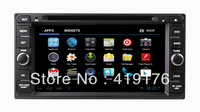 Android 4.0 Car DVD/GPS system for TOYOTA with 3G/Wifi,toyota universal android car dvd,toyota andorid,2 din android