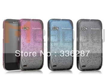Free shipping IMAK raindrop back hard case for Lenovo Le phone K2 cover, with retail package + screen protector /Shirly