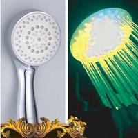 colorful nozzle light pressurized handheld shower head,HR798