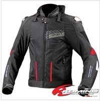 KOMINE JK015 High Drop Resistance Jacket Racing Jacket Titanium Shoulder Black Jersey