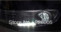 DRL LED Daytime Running Lights Fog Light Cover for Golf 6 VI MK6 09-12 AU
