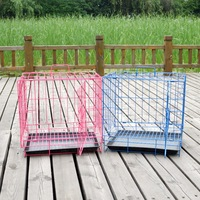 Pet folding small cage cat rabbit cage dog cage pallet