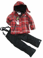 new 2013 winter ski suit for children snowboard jacket and pants clothing set boy Windproof Waterproof outerwear 14192402
