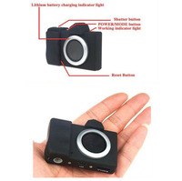Free shipping cheap camera with 3MP resolution and micro-camera digital camera with built-in li-battery SD card support